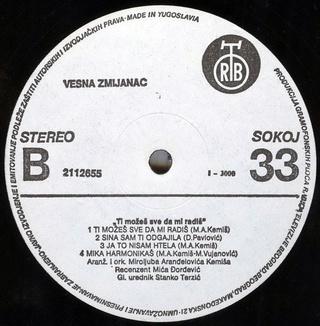 Vesna Zmijanac - Diskografija R-251111