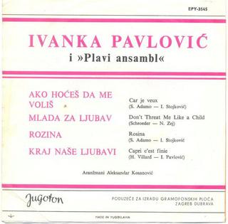 Ivanka Pavlovic - Diskografija R-251511