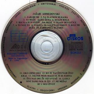 Jasar Ahmedovski - Diskografija R-251618