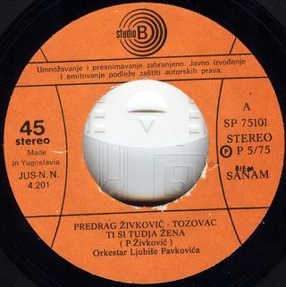 Predrag Zivkovic Tozovac - Diskografija R-252812