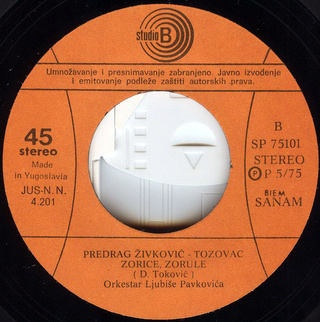 Predrag Zivkovic Tozovac - Diskografija R-252813
