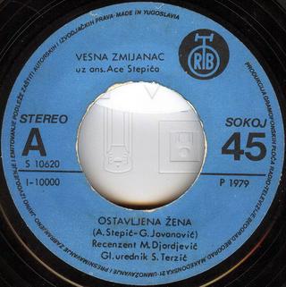 Vesna Zmijanac - Diskografija R-254712
