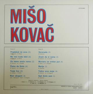 Miso Kovac - Diskografija  R-256310