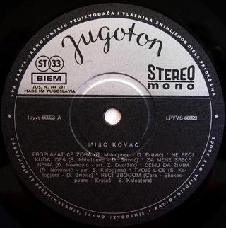 Miso Kovac - Diskografija  R-256312