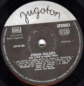 Zoran Kalezic - Diskografija R-258110