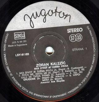 Zoran Kalezic - Diskografija R-258113