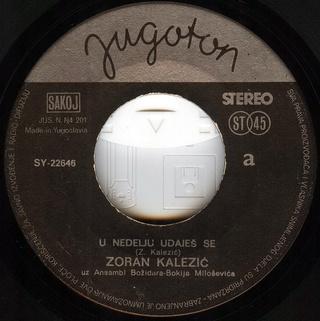 Zoran Kalezic - Diskografija R-259011
