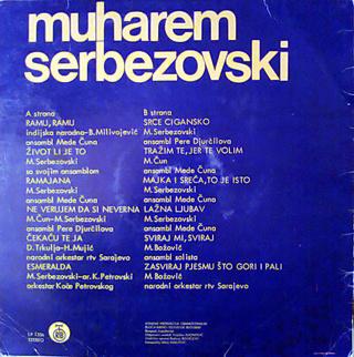 Muharem Serbezovski - Diskografija R-260811