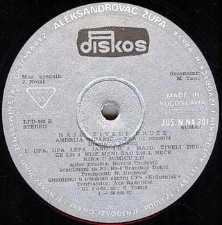 Andrija Era Ojdanic - Diskografija R-276713