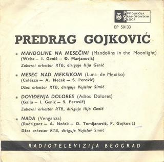 Predrag Gojkovic Cune - Diskografija  R-278912