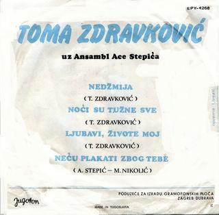 Toma Zdravkovic - Diskografija R-280211