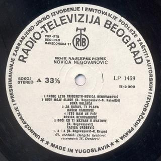 Novica Negovanovic - Diskografija R-291412