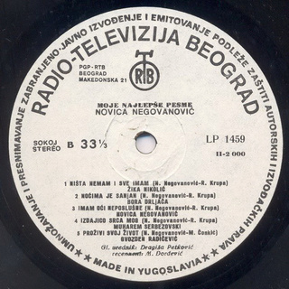 Novica Negovanovic - Diskografija R-291413