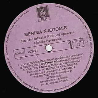 Merima Kurtis Njegomir - Diskografija  R-292616