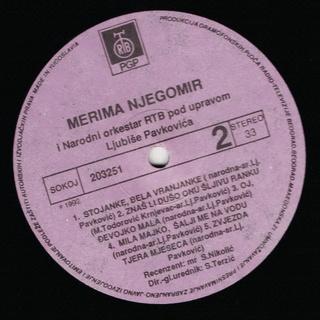 Merima Kurtis Njegomir - Diskografija  R-292617