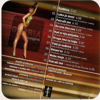 Gloria (Vesna Blagojevic) - Diskografija  R-294410