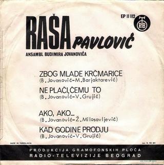 Rados Rasa Pavlovic - Diskografija  R-300211