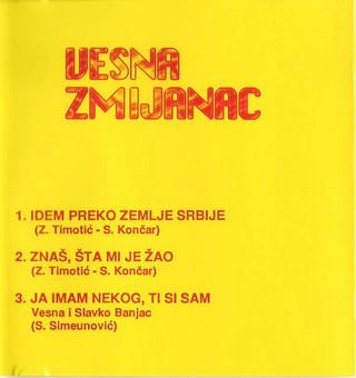 Vesna Zmijanac - Diskografija R-303011