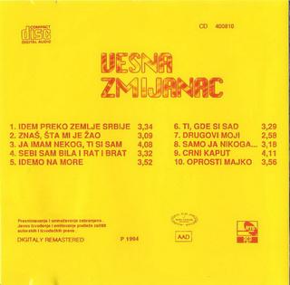 Vesna Zmijanac - Diskografija R-303012