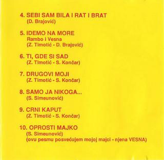 Vesna Zmijanac - Diskografija R-303013