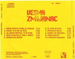 Vesna Zmijanac - Diskografija R-303014