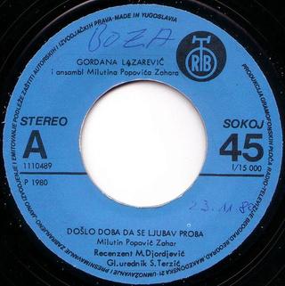 Gordana Lazarevic - Diskografija R-305011