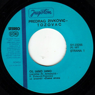Predrag Zivkovic Tozovac - Diskografija R-308916