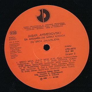 Jasar Ahmedovski - Diskografija R-316719