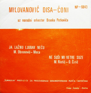 Radisa Disa Milovanovic - Diskografija  R-323722
