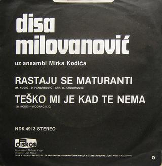 Radisa Disa Milovanovic - Diskografija  R-324211