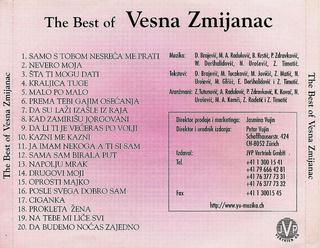 Vesna Zmijanac - Diskografija R-327911