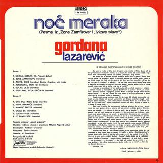 Gordana Lazarevic - Diskografija R-332918