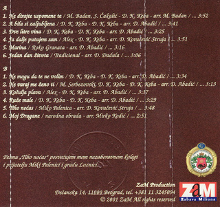 Dragan Kojic Keba - Diskografija R-335817