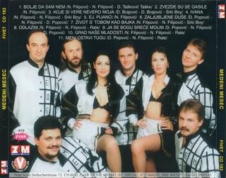 Medeni Mesec - Diskografija R-336320