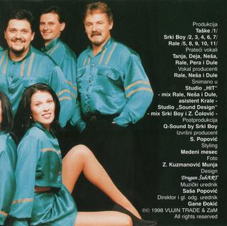 Medeni Mesec - Diskografija R-336321