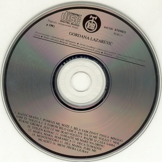 Gordana Lazarevic - Diskografija R-338118
