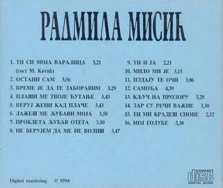 Radmila Misic - Diskografija R-339026