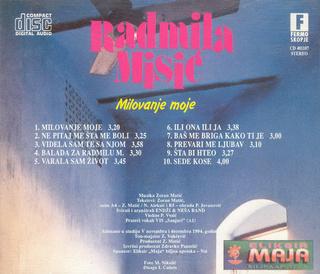 Radmila Misic - Diskografija R-339618