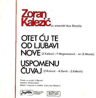 Zoran Kalezic - Diskografija R-340711
