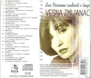 Vesna Zmijanac - Diskografija R-341110
