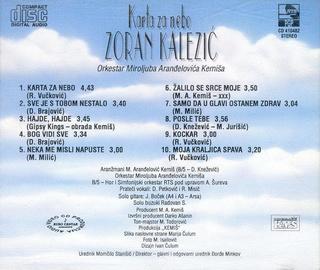 Zoran Kalezic - Diskografija R-341113