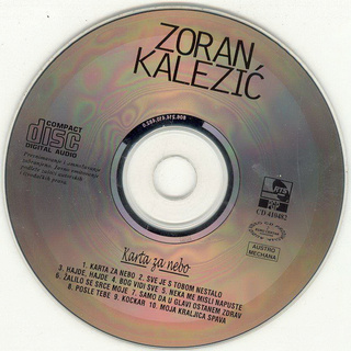 Zoran Kalezic - Diskografija R-341114
