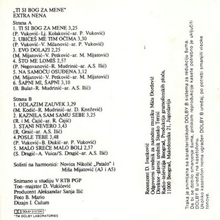 Extra Nena ( Snezana Beric ) - Diskografija  R-341913