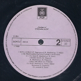 Snezana Savic - Diskografija R-342817