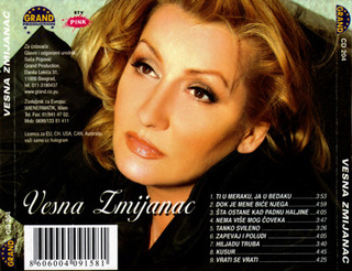 Vesna Zmijanac - Diskografija R-343416