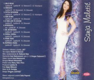 Aleksandra Sanja Maletic - Diskografija R-344113