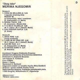 Merima Kurtis Njegomir - Diskografija  R-344915