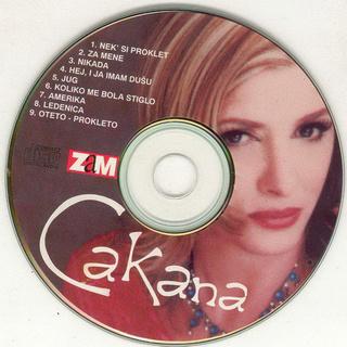 Cakana - Dragica Radosavljevic - Diskografija  R-345027