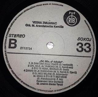 Vesna Zmijanac - Diskografija R-345126