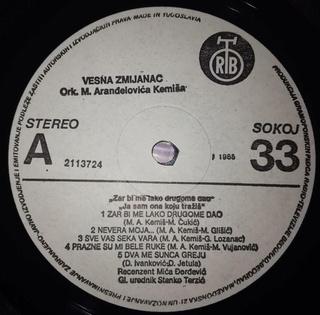 Vesna Zmijanac - Diskografija R-345127